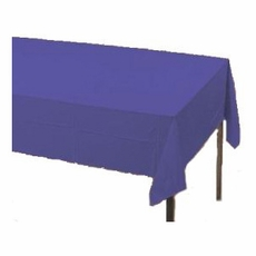 Purple Paper Tablecloth (Plastic lined)