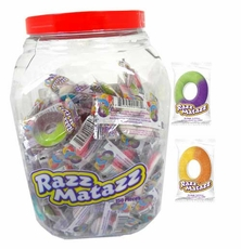 Razzmatazz Gummi Assorted Rings 150 Count