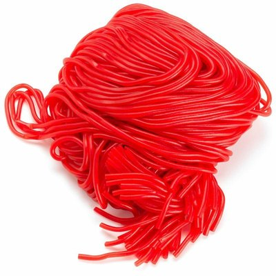 Red Licorice Shoe String Candy