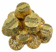 Reese's Mini Peanut Butter Cups Gold Foil 24oz Bag