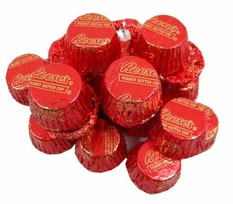 Reese's Mini Peanut Butter Cups Red Foil 24oz Bag