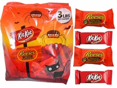 Reese's Pumpkins & Kit Kat Mix 3lb (120)