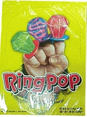 Ring Pops Regular Fruit Flavors 24ct