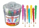 Rock Candy On Sticks  36ct Nostalgic Candy