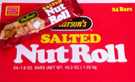 Salted Nut Roll Candy Bar 24ct