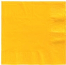 School Bus Yellow Lunch Napkins 50 Count