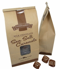 Sea Salt Caramels Milk Chocolate 7oz Bag