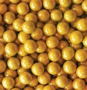Shimmer Gold Mini Chocolate Balls 2lb Sixlets