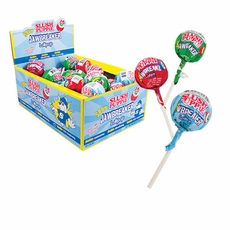 Slush Puppy Jawbreaker Sour Lollipops 40 Count