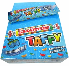 Smarties Taffy Blue Raspberry 24 Count
