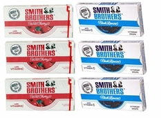 Smith Brothers Cough Drops 20ct Cherry or Black Licorice