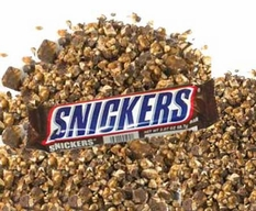 Snickers Chopped Topping 5lb