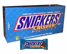 Snickers Crisper Candy Bars 18 Count