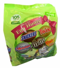 Snickers, M&M'S Easter Egg Hunt Candy Mix 105 Pieces