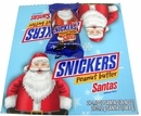 Snickers Peanut Butter Santas 24 Count