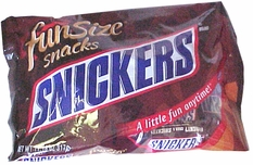 Snickers  Snack Size Candy Bars (18ct)