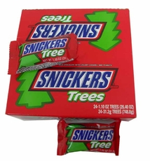 Snickers Trees Candy Bars 24 Count