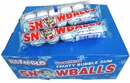 Snow Ball Bubble Gum 24ct