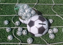 Soccer Ball Filled With Chocolate Soccer Balls