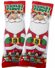 Solid Milk Chocolate Santa 4.4oz