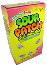 Sour Patch Watermelon's 240ct  Single Wrapped