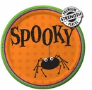"Spooky 9""  Paper Dinner Plate 8 Count"