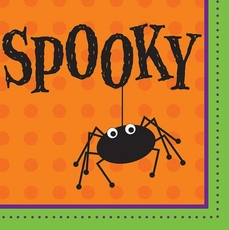 Spooky Paper Dinner Napkins 18 Count