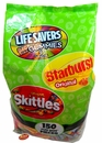 Starburst Skittles Combo Mix 150 Count