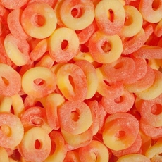 Sugar Free Peach Rings 18oz