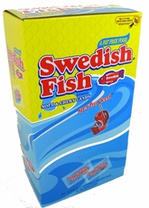 Swedish Red Gummy Fish 240ct  Single Wrapped