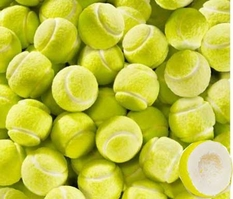 Tennis Ball Bubble Gum Balls 62 Count