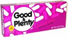 Good & Plenty 6oz Theater Size