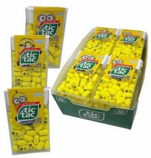 Tic Tac Minions 12 Packs (Limited Edition) Despicable Me Minions