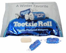 Tootsie Roll  Vanilla Midgees 50 Count 12oz Bag