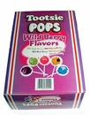 Tootsie Pop Wild Berry Lollipops 100 Count