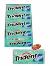 Trident Gum Value Pack Minty Sweet Twist 12 Count Box