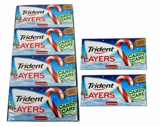 Trident Layers Candy Cane Flavor 12 Packs