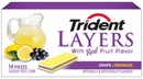 Trident layers Grape Lemonade 12 Count