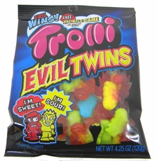 Trolli Evil Twins Gummy Candies 4.25oz Bag
