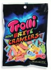 Trolli Gummy Sour Worms  5oz bag