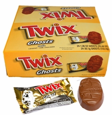 Twix Caramel Ghosts 24 Count