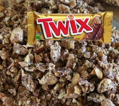 Twix Chopped Topping 5lb Bag