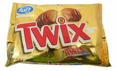 Twix Fun Size 11.40oz bag (20 Count)