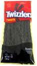 Twizzler Black Licorice  7oz Peg Bag