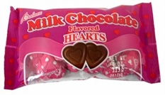 Valentines Chocolate Hearts Cookies
