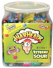 War Heads 240ct Extreme Sour