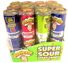 War Heads Super Sour Spray 12ct