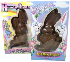 Whacky Wabbit/Hunny Bunch Solid Chocolate 2oz