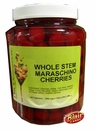 Whole Maraschino Cherries With Stem 1/2 Gallon Jar