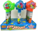 Wind Up Fishing Game Toy With Candy 12 Count
